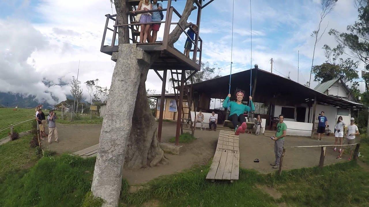 Casa del arbol banos ecuador drone gopro hd 2016 for Casa del arbol cuenca