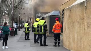 Aix : incendie dans un parking souterrain