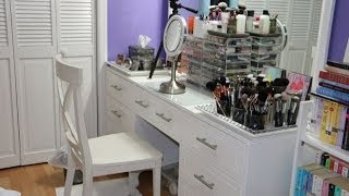 Vanity Tour And Makeup Organization / Storage Tips