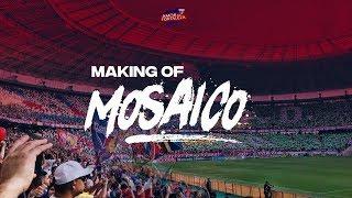 MAKING-OF MOSAICO FORTALEZA X SAMPAIO CORRÊA