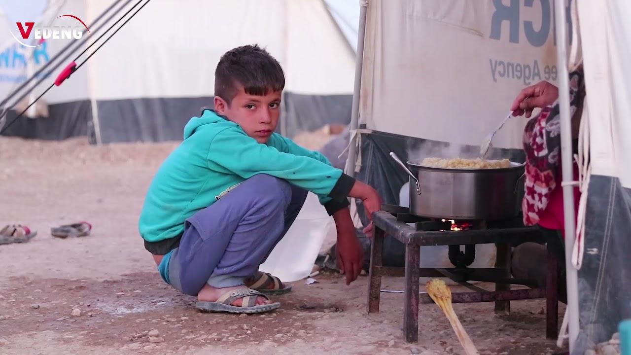 تزايد مستمر في عدد اللاجئين بمخيم نوروز في شمال شرق سوريا