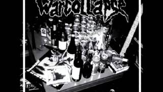 Warcollapse - The Blood Runs Red -(Discharge cover)
