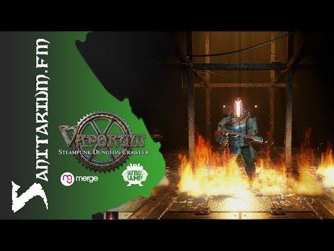 Multiplatform Game Review: Vaporum by Fatbot Games