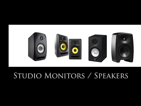 Studio Monitors - Pro Audio Home Studio