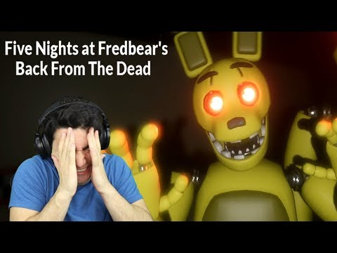 MOST UNFAIR FREE ROAM FNAF FAN GAME! - Five Nights at Fredbears: Back From the Dead (Night 1 Demo)