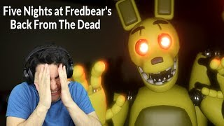 MOST UNFAIR FREE ROAM FNAF FAN GAME! - Five Nights at Fredbear's: Back From the Dead (Night 1 Demo)