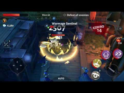 Dungeon Hunter 5 Waypoint 68 Health/hit + Bloodrage