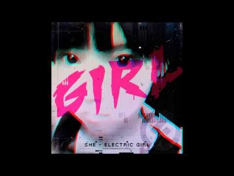 she - Electric Girl (FULL ALBUM)