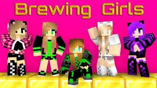 Monster School: Brewing Beautiful Girls - Minecraft Animation