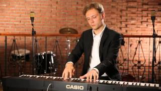 Casio CDP-130 Экспромт-фантазия cis moll, Ф. Шопен / F. Chopin's Fantaisie-Impromptu