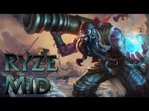 League of Legends - Pirate Ryze Mid - Full Game Commentary