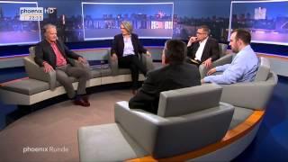 """""""Grexit, Brexit – Die EU vor dem Zerfall?"""" - phoenix Runde vom 02.06.2015"""