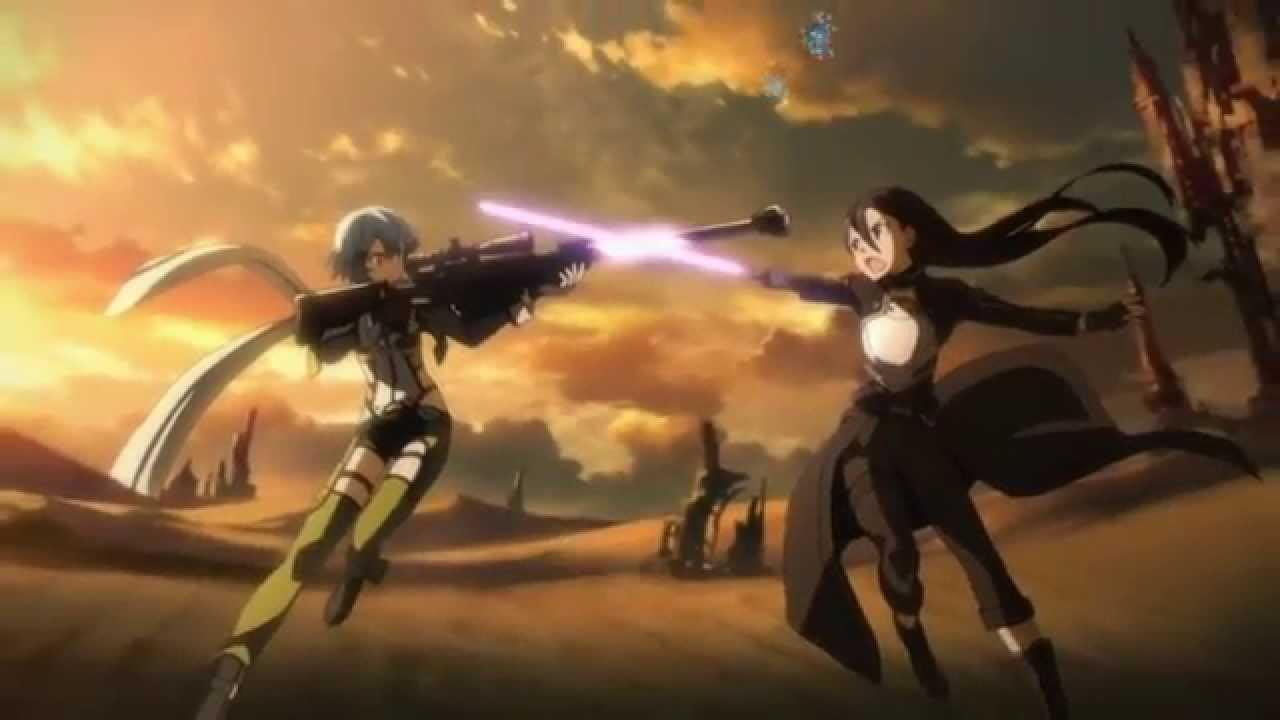 刀劍神域第二季OP(遊戲人生版) - YouTube