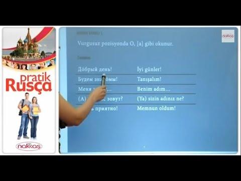 Tanışma 1: Diyalog - Pratik Rusça Eğitimi