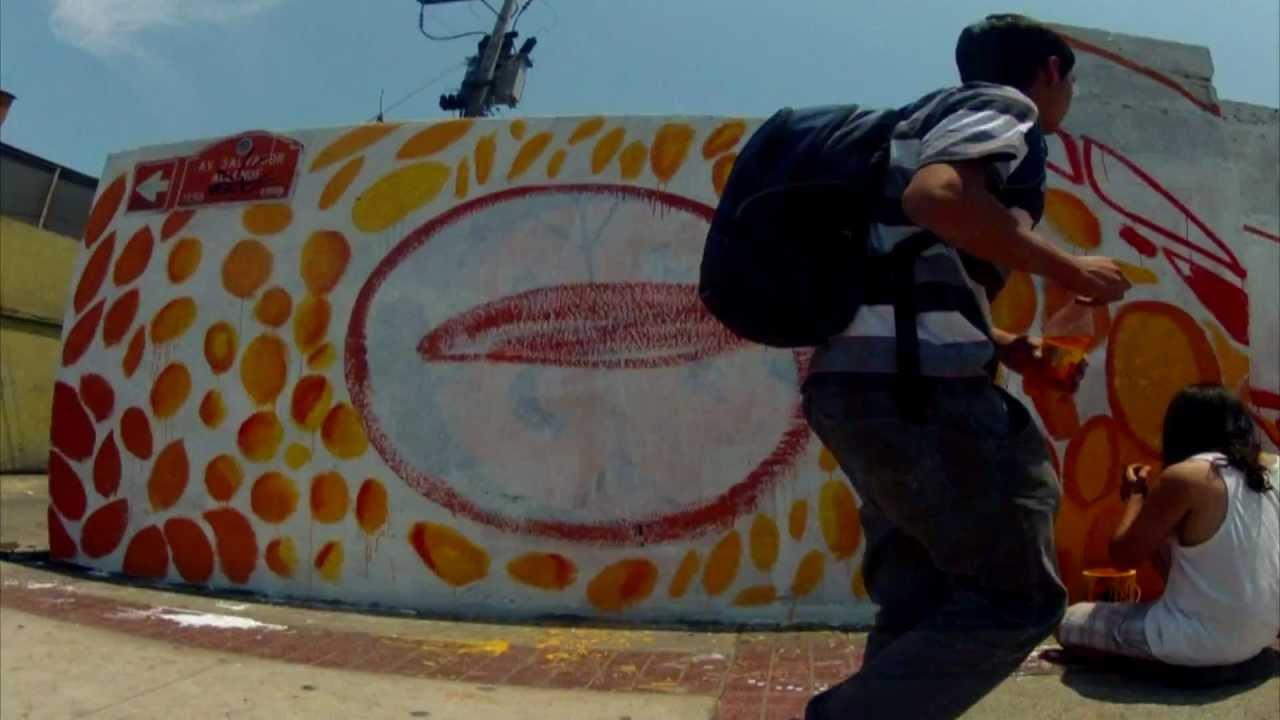 Trailer mural en apoyo al pueblo mapuche 2013 el gremio for El mural trailer