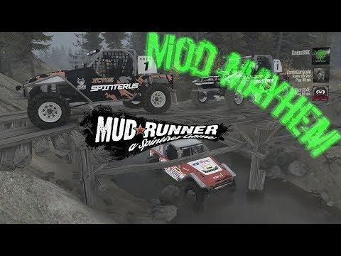 Spintires: MudRunner   Seashore!   Mod Mayhem Toyota FJ40 - Ep-6
