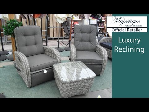 Reclining Garden Furniture Reclining Rattan Chairs Sofas And Sets Uk