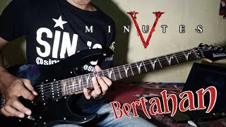 Five Minutes - Bertahan (Guitar cover by. Ariez Jun)