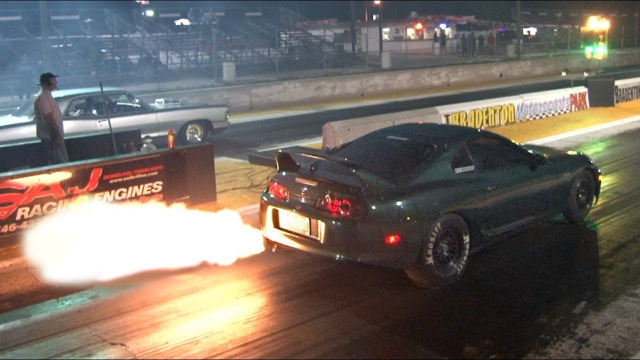 Lovely 900hp FLAME THROWER Supra   YouTube