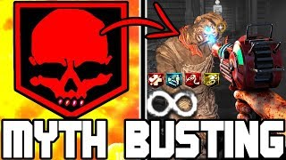 Does INSTAKILL Work on BURIED's Round INFINITY?? // BLACK OPS 4 ZOMBIES // MYTH BUSTING MONDAYS #34