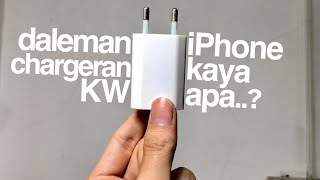 Bongkar kepala charger Kw iPhone