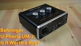 Behringer U-Phoria UM2 Review: Is It Worth a Buy?