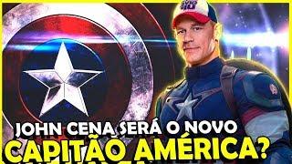 JOHN CENA PODE SER O NOVO CAPITÃO AMÉRICA