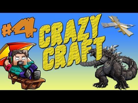 Minecraft Crazy Craft | Ep. 4 | Basiliskai ir OP Lankas!