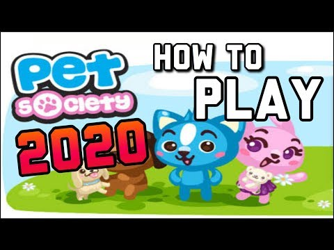PET SOCIETY 2020!!! HOW TO DOWNLOAD!!!