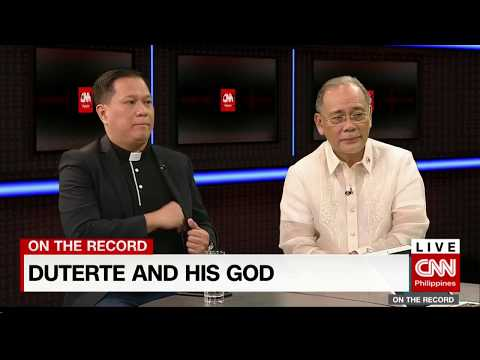 On the Record: Duterte and his God