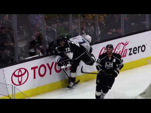 Fit To Be King | Science of Hockey: Dustin Brown's Big Hits
