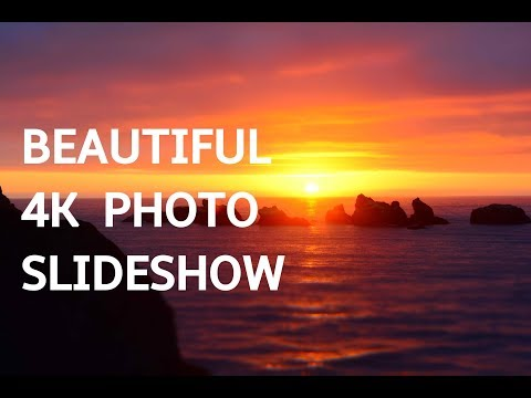 BEAUTIFUL PHOTO SLIDESHOW IN 4K! Beautiful Art Photography Slideshow Screensaver | Silent Scenery