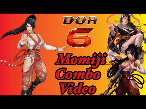Dead or Alive 6: 龍神女 Momiji Combo Video + 41 Hit Damage Combo?!?!