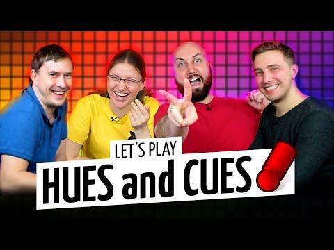 HUES And CUES — самая оригинальная игра на ассоциации 2020 года на OMGames!