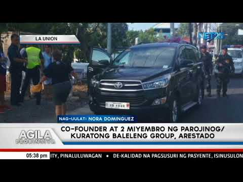 Co founder at 2 miyembro ng Parojinog o Kuratong Baleleng Group, arestado
