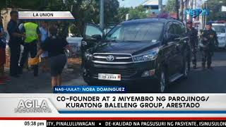 Co founder at 2 miyembro ng Parojinog o Kuratong Baleleng Group, arestado