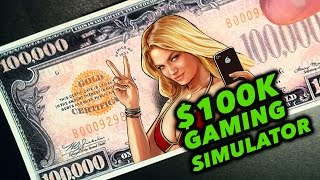 GTA 5 ON $100K SIMULATOR, PS2 GAMES ON PS4, & MORE