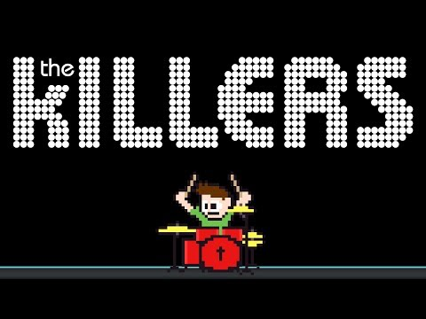 The Killers - Somebody Told Me (Drum Cover) -- The8BitDrummer