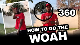 HOW TO DO TΗE WOAH Dance - Dance With Robot (Episode 3)