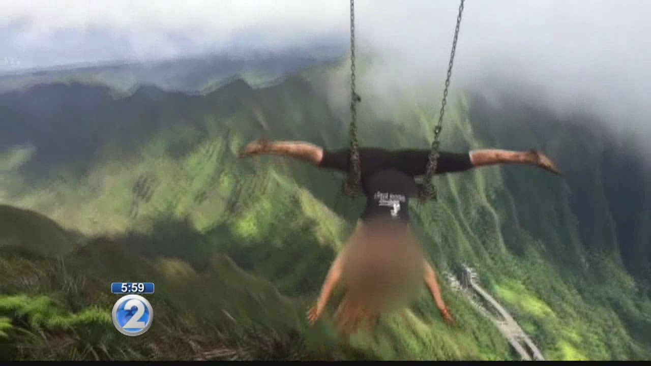 BWS explains costly plan to remove Haiku Stairs swing - YouTube