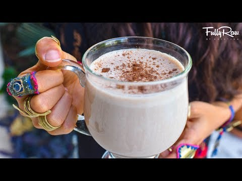 Pumpkin Spice Mocha Latte | Raw Vegan Coffee Replacement Recipe