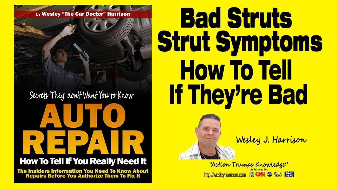 Shocks And Struts How To Tell If They Are Bad Noise