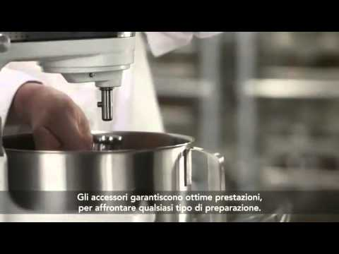 KITCHENAID - ROBOT ARTISAN DA CUCINA DA 1,3 HP - YouTube