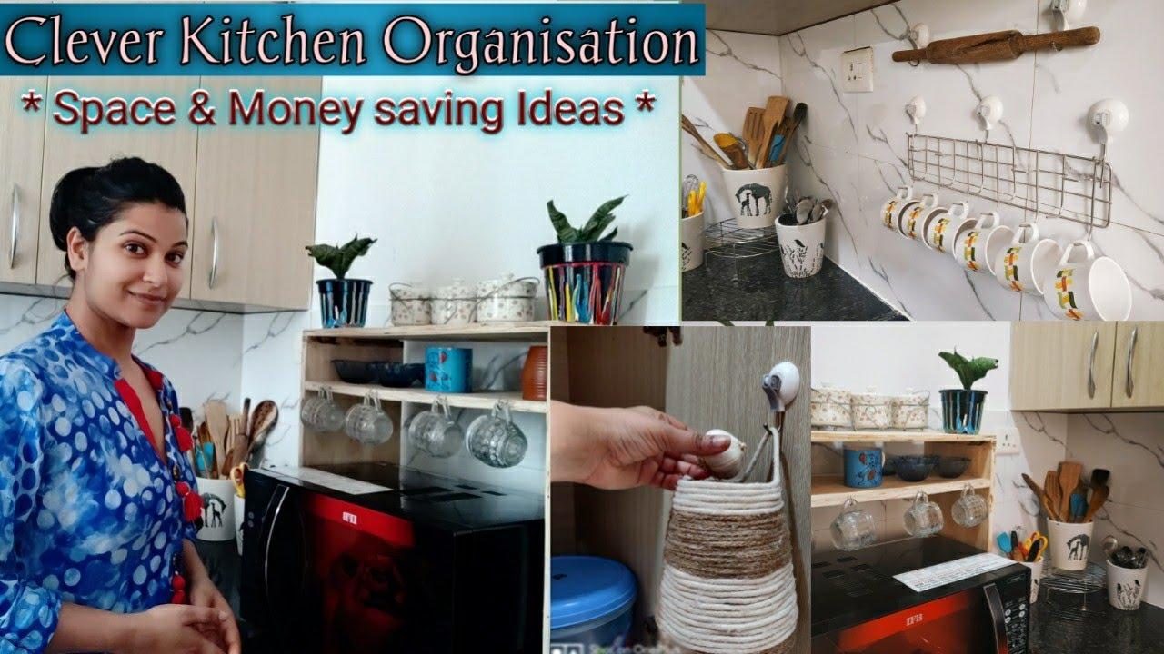 Smart Clever Kitchen Organization Rental Kitchen À¤• À¤² À¤ À¤‰à¤ªà¤¯ À¤— Space Money Saving Organizer Youtube