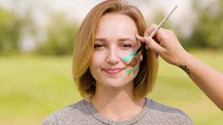 Game Day Spirit Easy Football Face Painting Ideas Pro Tips By Dick S Sporting Goods