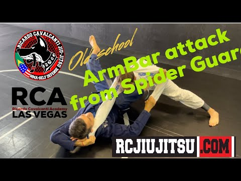 Old School Armbar from Spider Guard