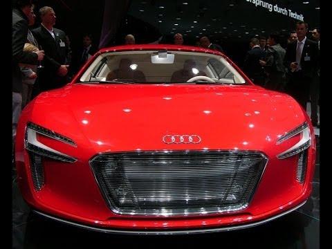 Audi R8 etron TEST DRIVE