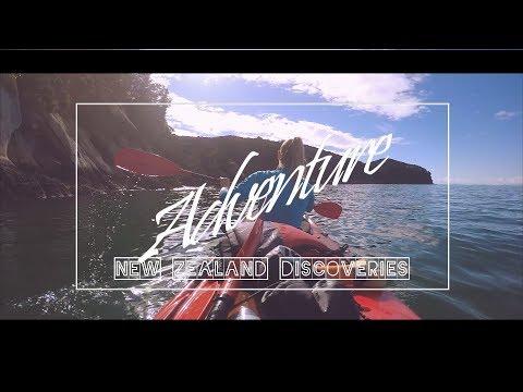 Awesome World tour travel movie exploring New Zealand with GoPro Hero 5