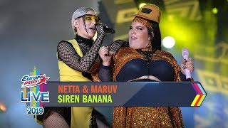 Download Europa Plus LIVE 2019: NETTA feat. MARUV – SIREN BANANA Mp3 and Videos