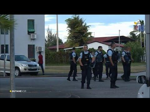 Kourou : les gendarmes déployés au quartier de l'Anse